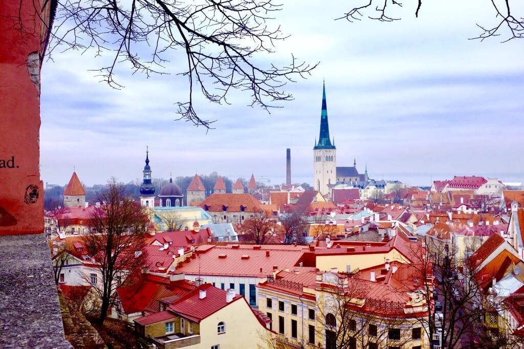 Tallinn city break Tallinn as seen from Kohtuotsa viewing platform