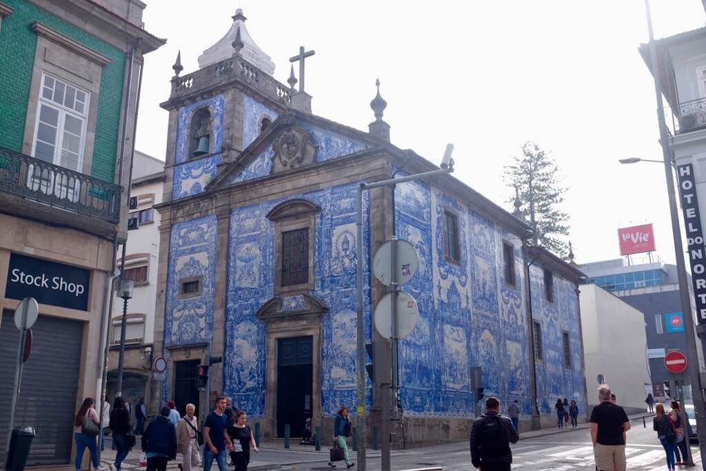 Foodie highlights of Porto, Capela des Almas