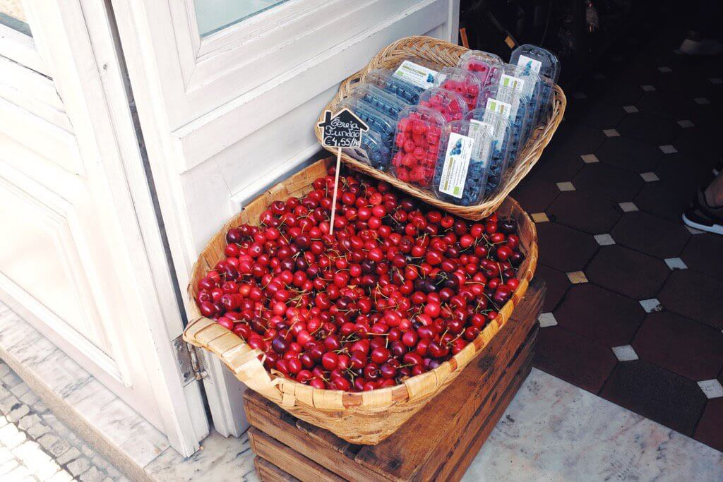 Foodie highlights of Porto cherries