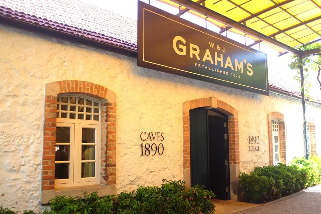 Three days in Porto . Grahams entrance