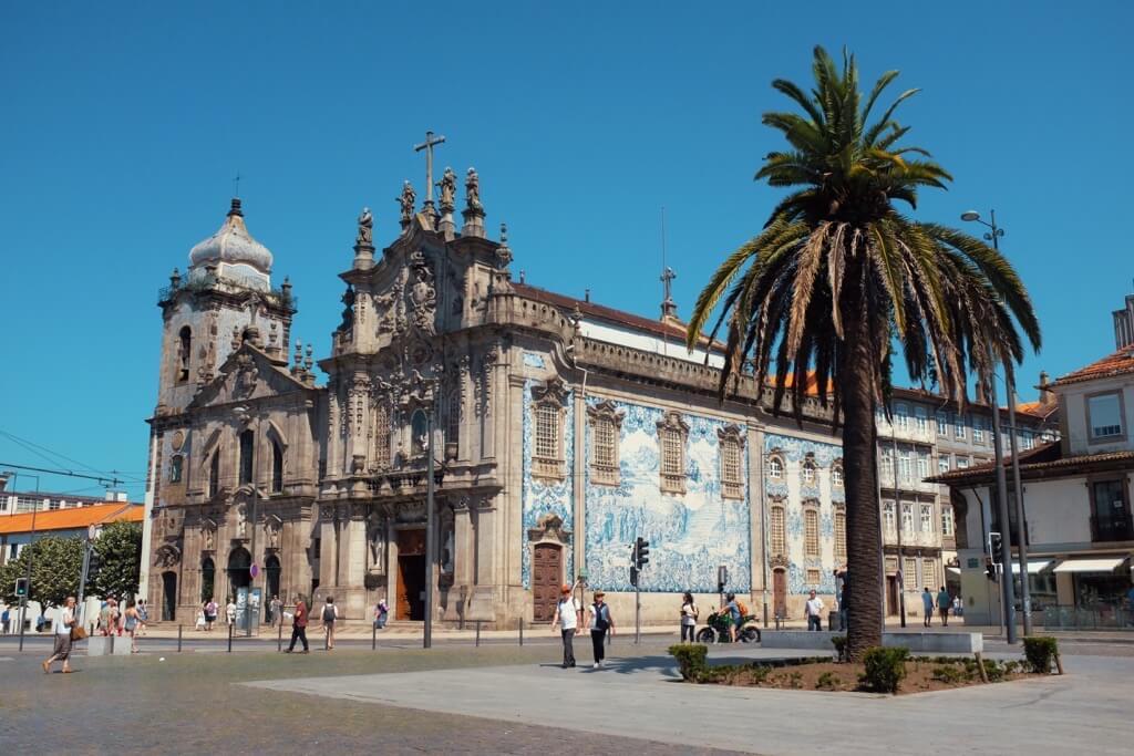 Three days in Porto. Igreja do Carmo