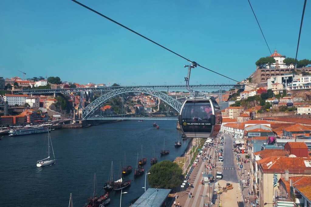 Three days in Porto. Gondola