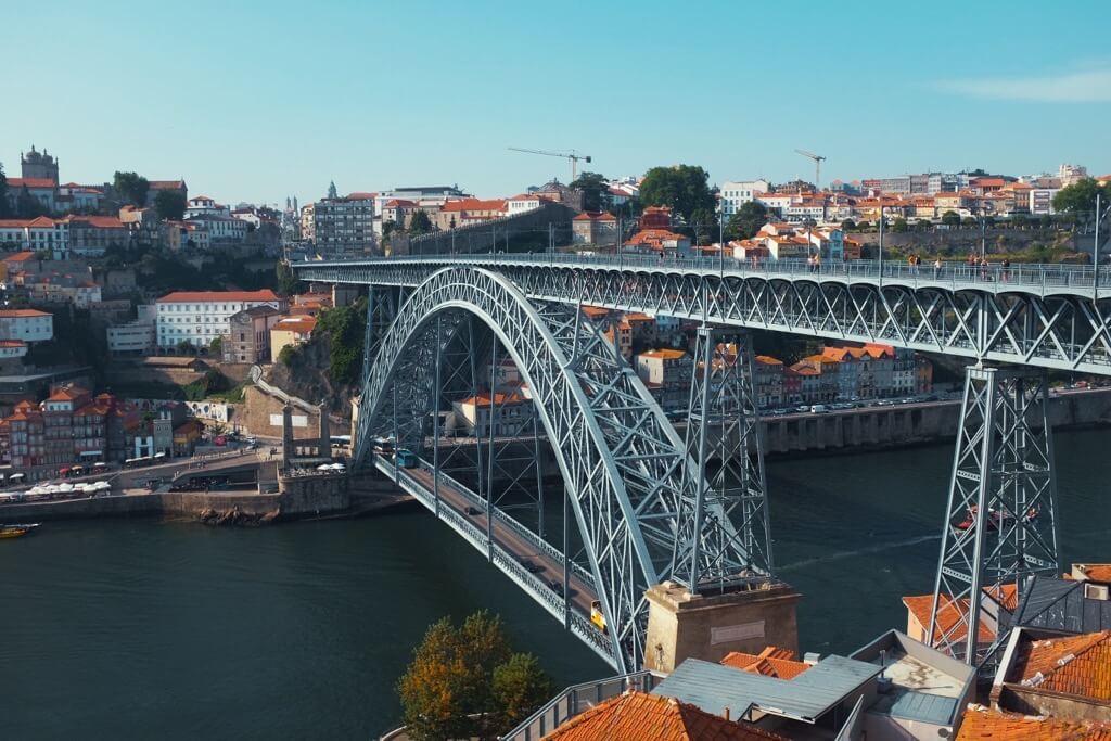 Three days in Porto. Ponte Dom Luis
