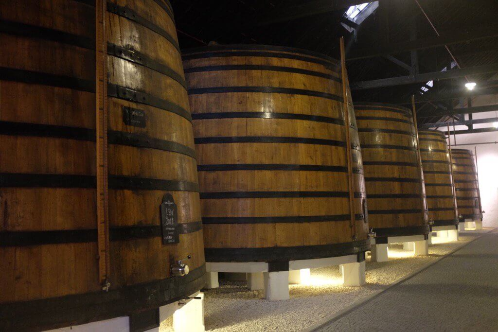 Foodie highlights of Porto ruby barrels