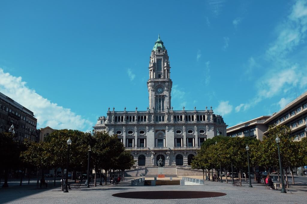 Three days in Porto. Town hall