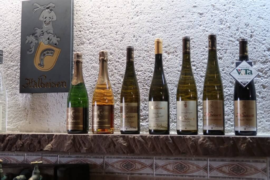 Alsace wine route - Halbeisen wines