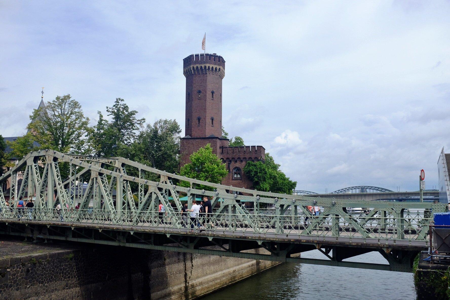 Drehbrücke Malakoffturm Köln Cologne Gallery Trip Gourmets