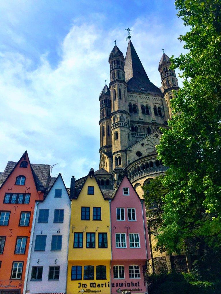 Gross St.Martin church Köln Cologne Gallery Trip Gourmets