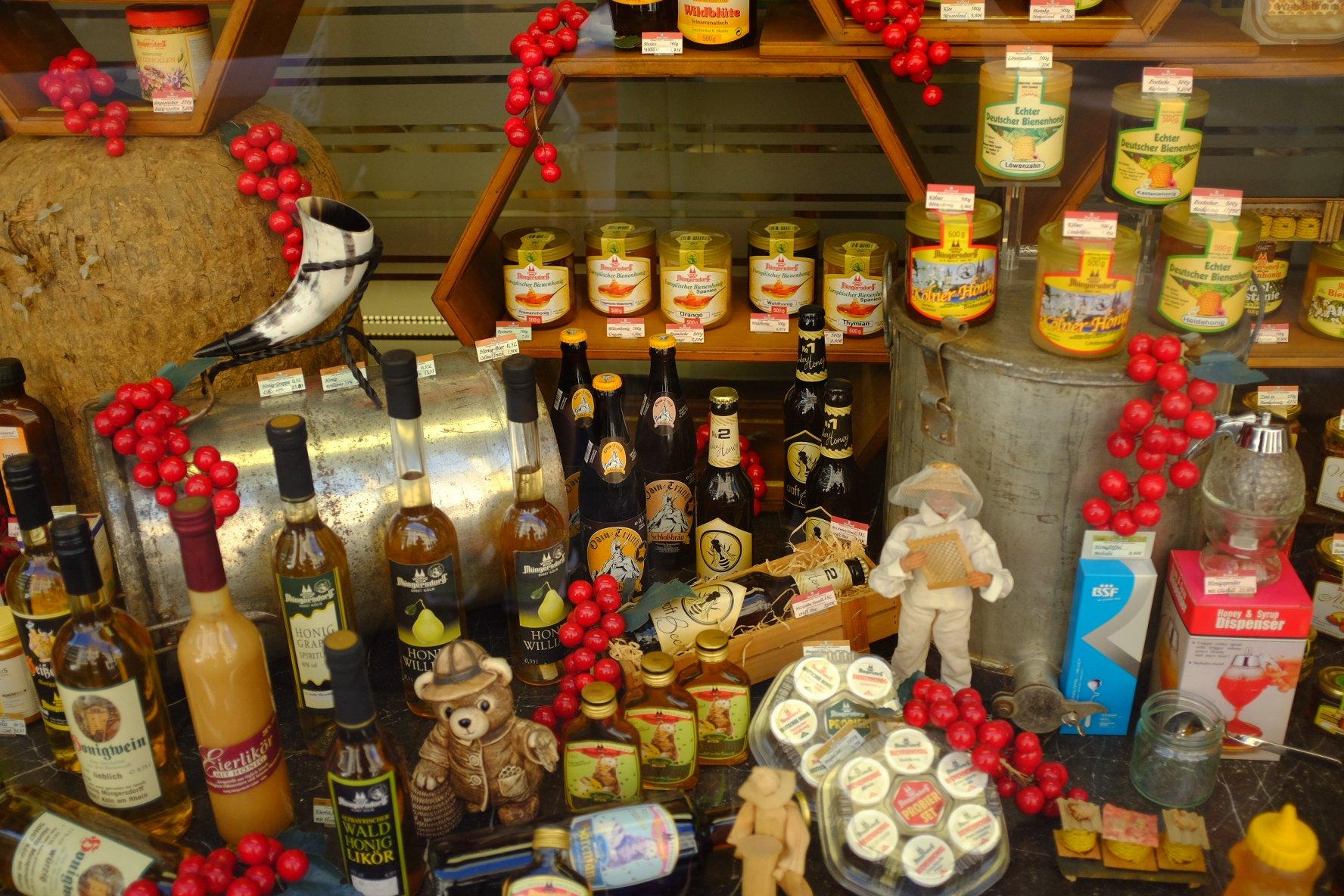 honey shop Köln Cologne Gallery Trip Gourmets