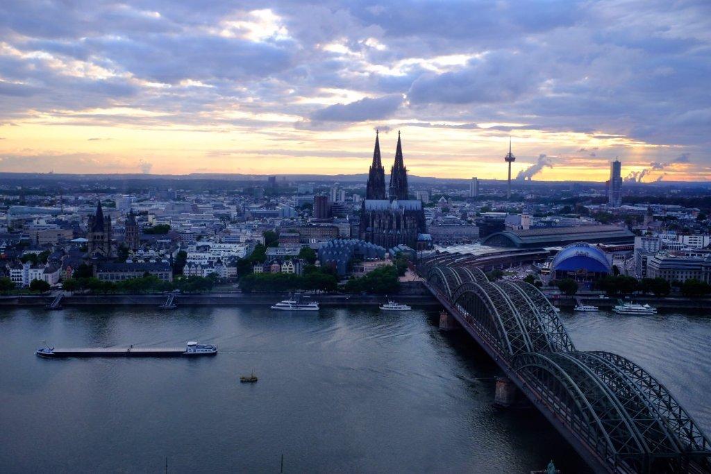 Sunset Köln Dom Cologne Gallery Hohenzollernbrücke Trip Gourmets