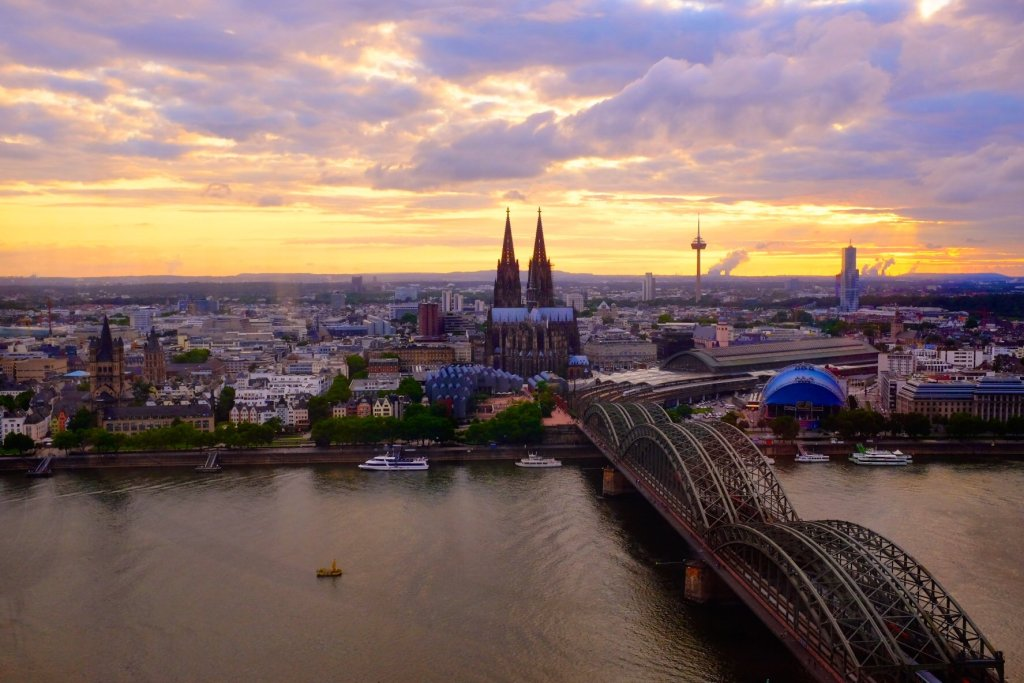 things to do in Cologne in one day view from Triangle