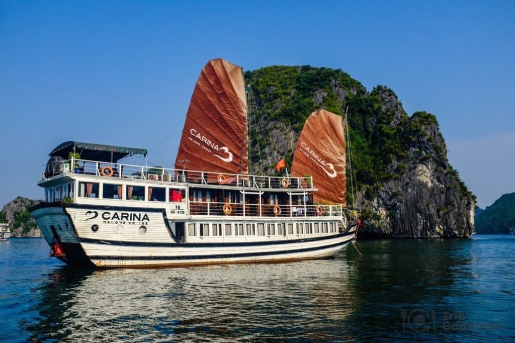 Vietnam 3 week itinerary Halong Bay