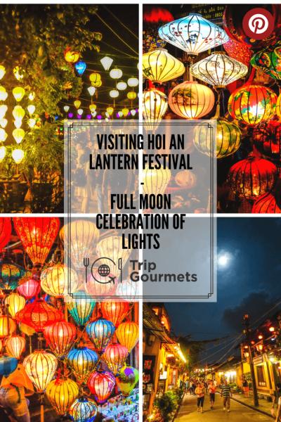 Hoi An Lantern Festival Pinterest Pin