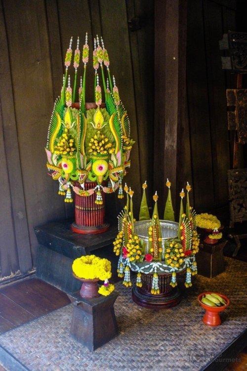 Kamthieng House Sukhumvit Bangkok traditional Lanna building baisri ritual