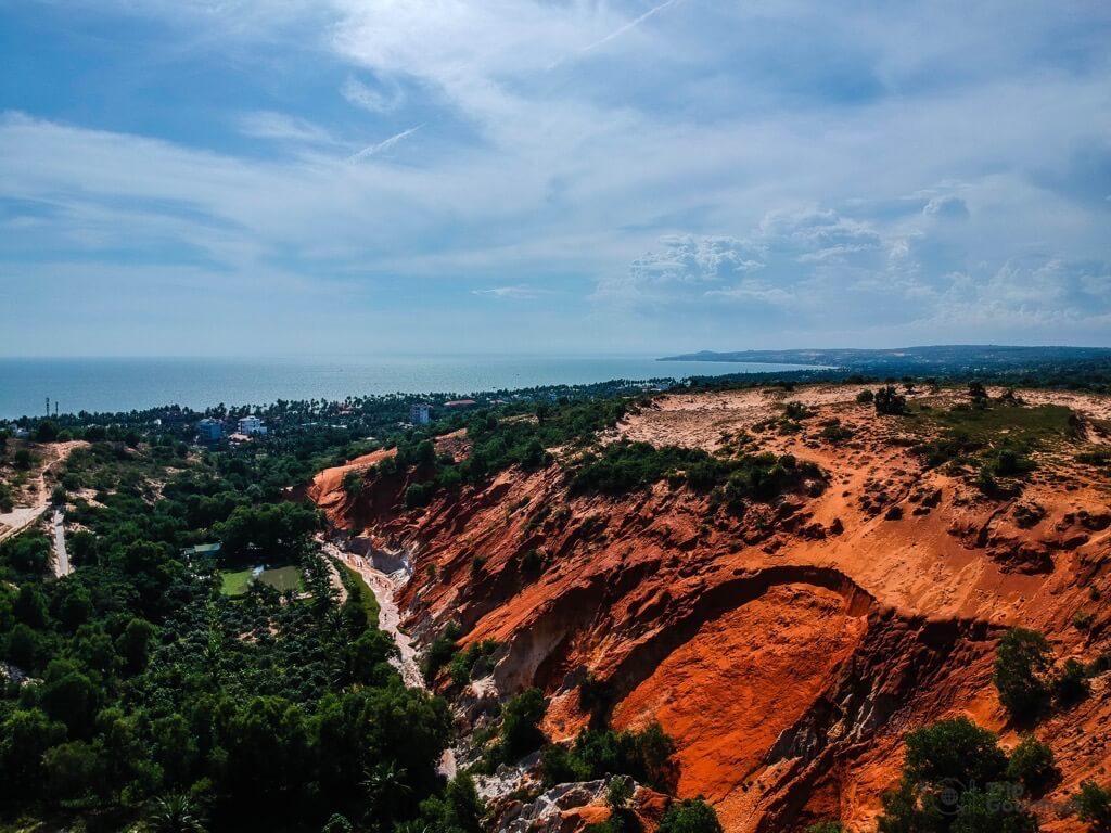 Things to do in Mui Ne Muine fairy stream red dunes rocks forest sea