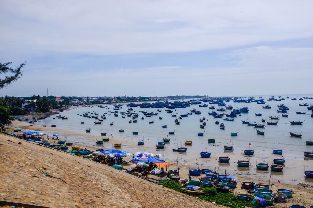 Things to do in Mui Ne Muine harbour boats sea fisher
