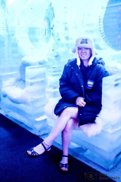 Activities Koh Samui ice bar chair cold
