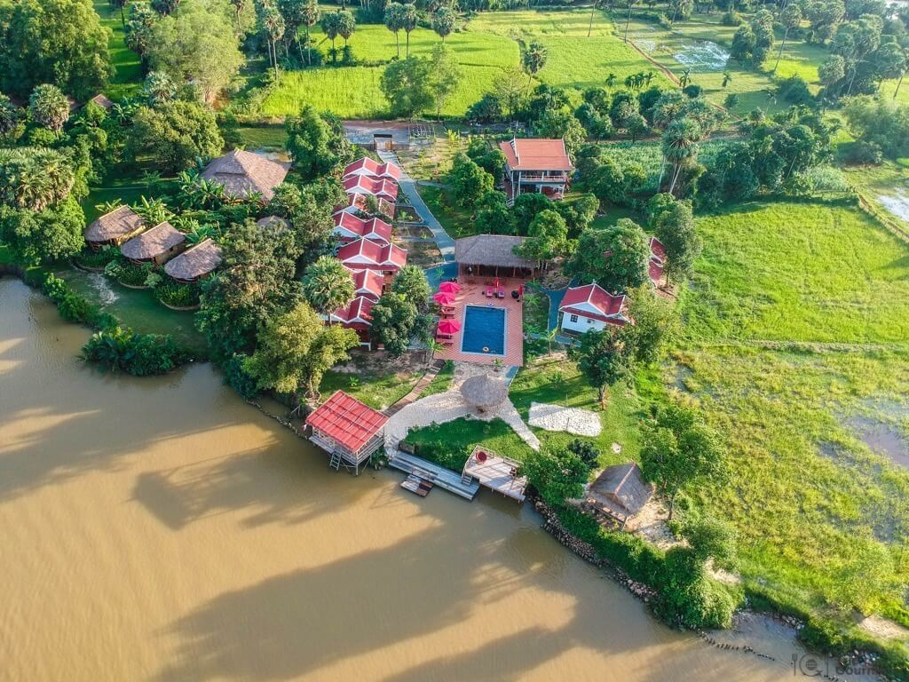 Things to do in Kampot DJI Spark Gecko Village cambodia drone footage
