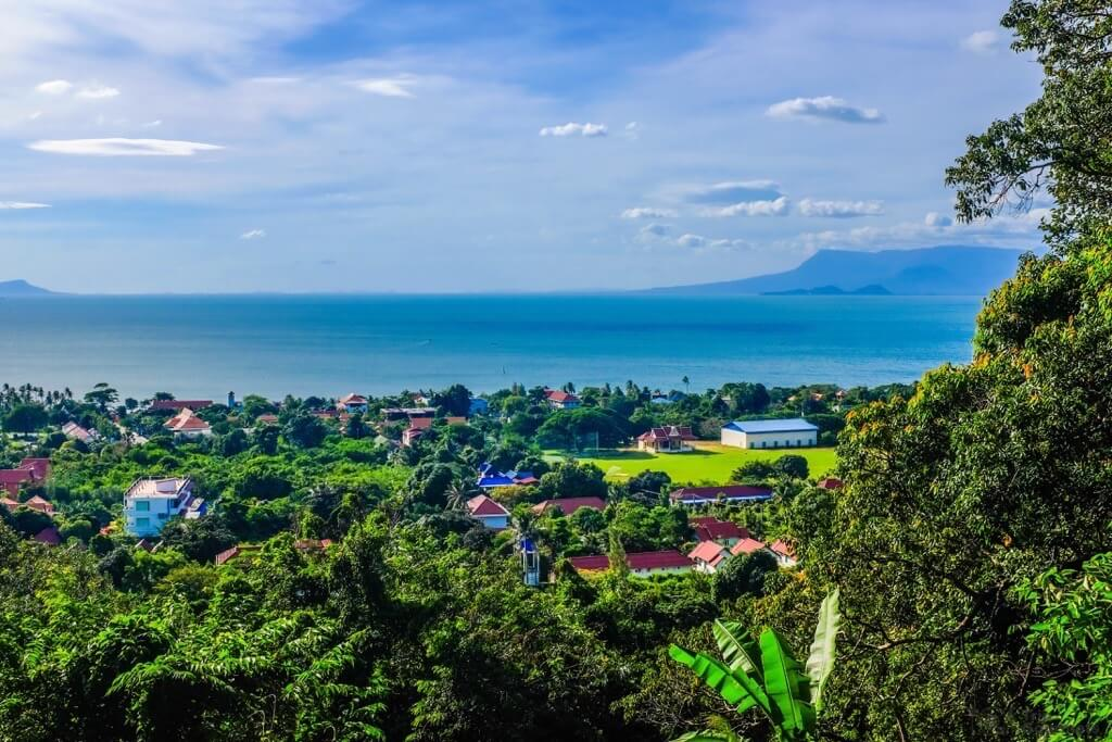 Things to do in Kampot cambodia Kep View National Park sea