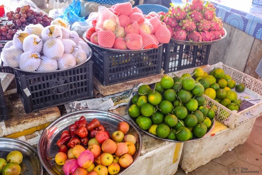 Things to do in Kampot cambodia Kep market fruit