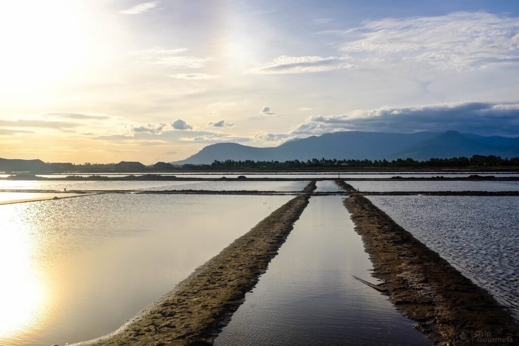 Things to do in Kampot cambodia Sald fields sunset