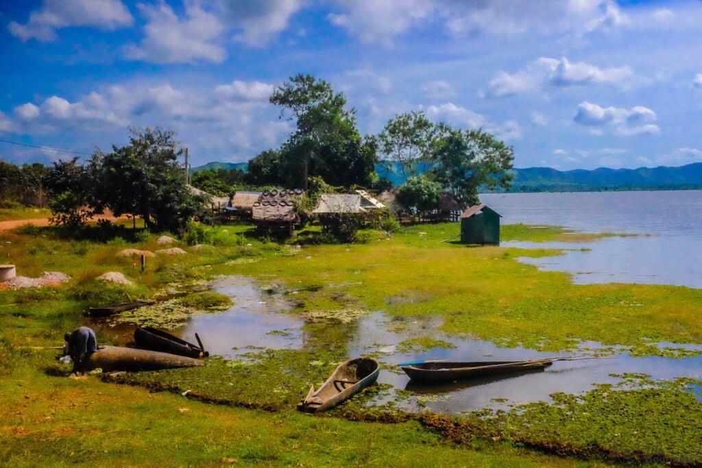 Things to do in Kampot cambodia house Secret Lake Brateak Krola