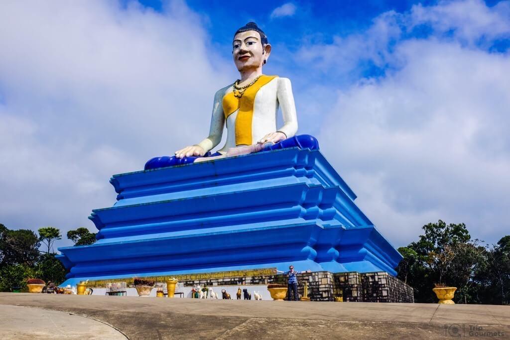 Things to do in Kampot cambodia buddha statue Ya Mao monument