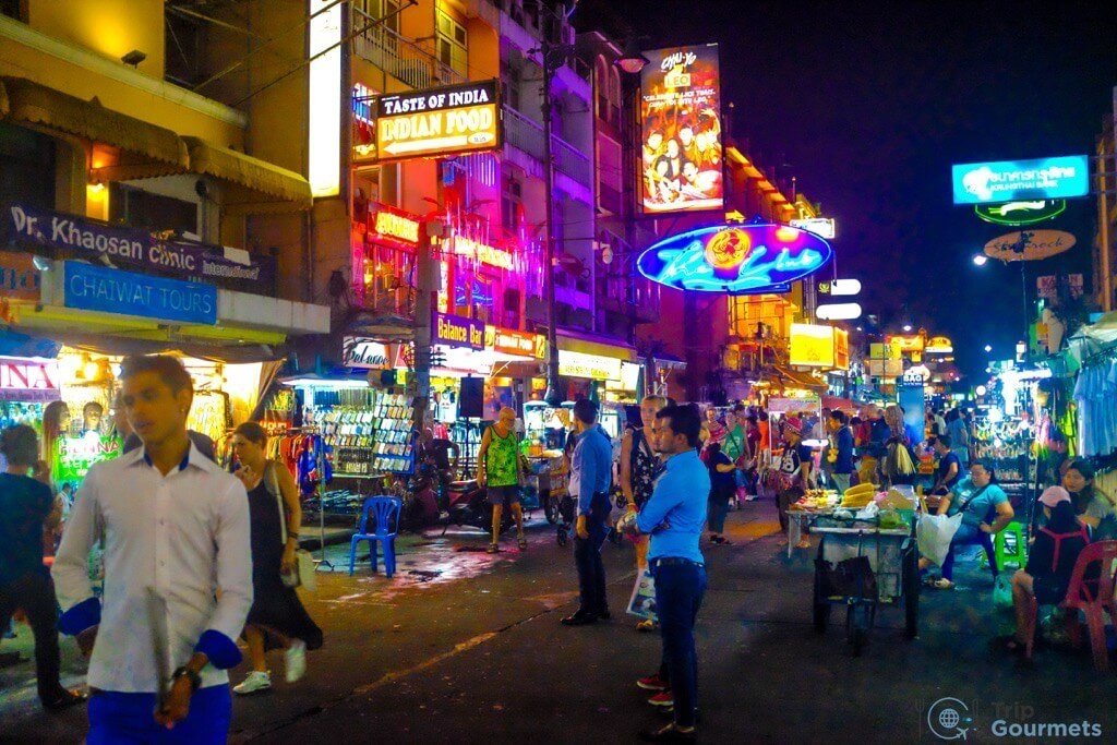 Best Markets in Bangkok Khao San Road