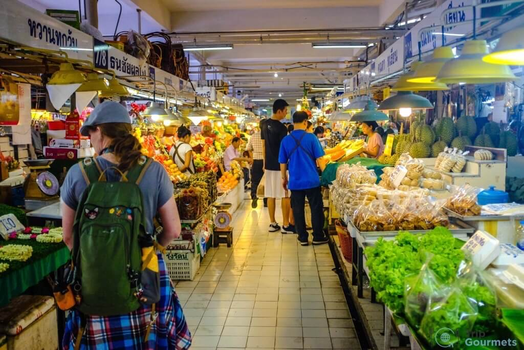 Best Markets in Bangkok Or Tor Kor aisles food