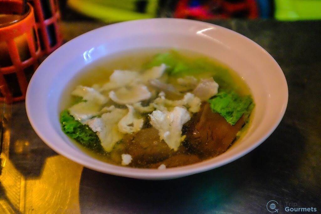 Best Markets in Bangkok Yaowarat pork soup