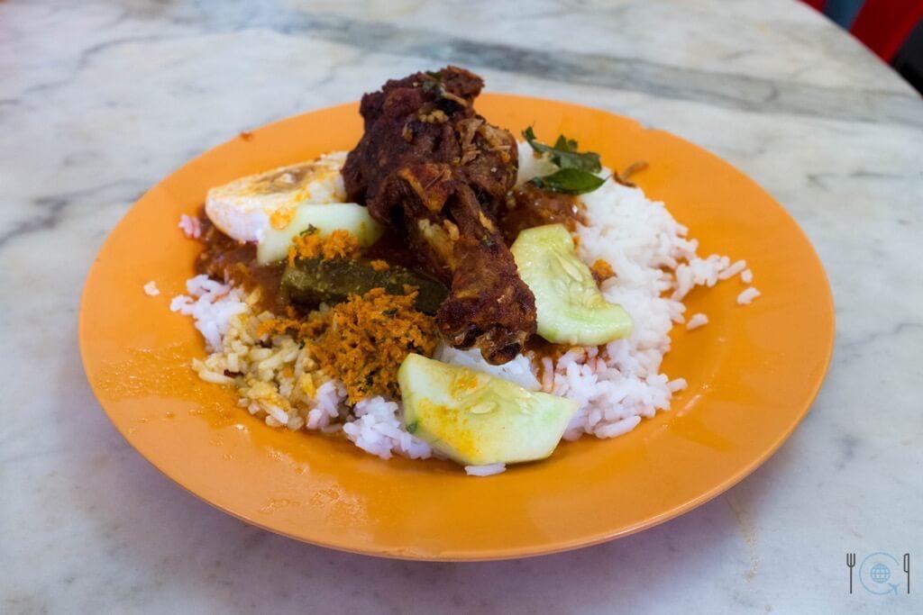 Best food in Ipoh - Nasi Ganja
