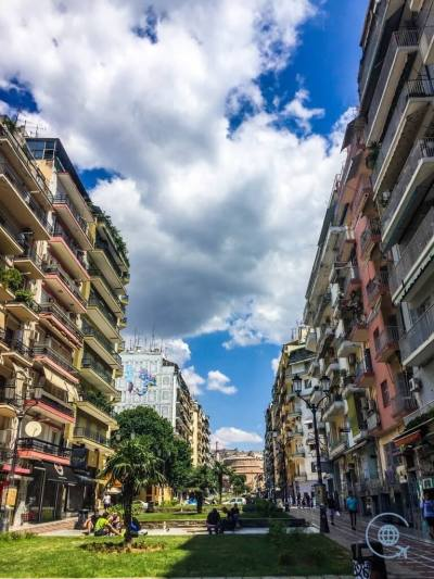 Sightseeing Thessaloniki Street view