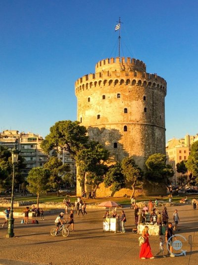 Sightseeing Thessaloniki white tower