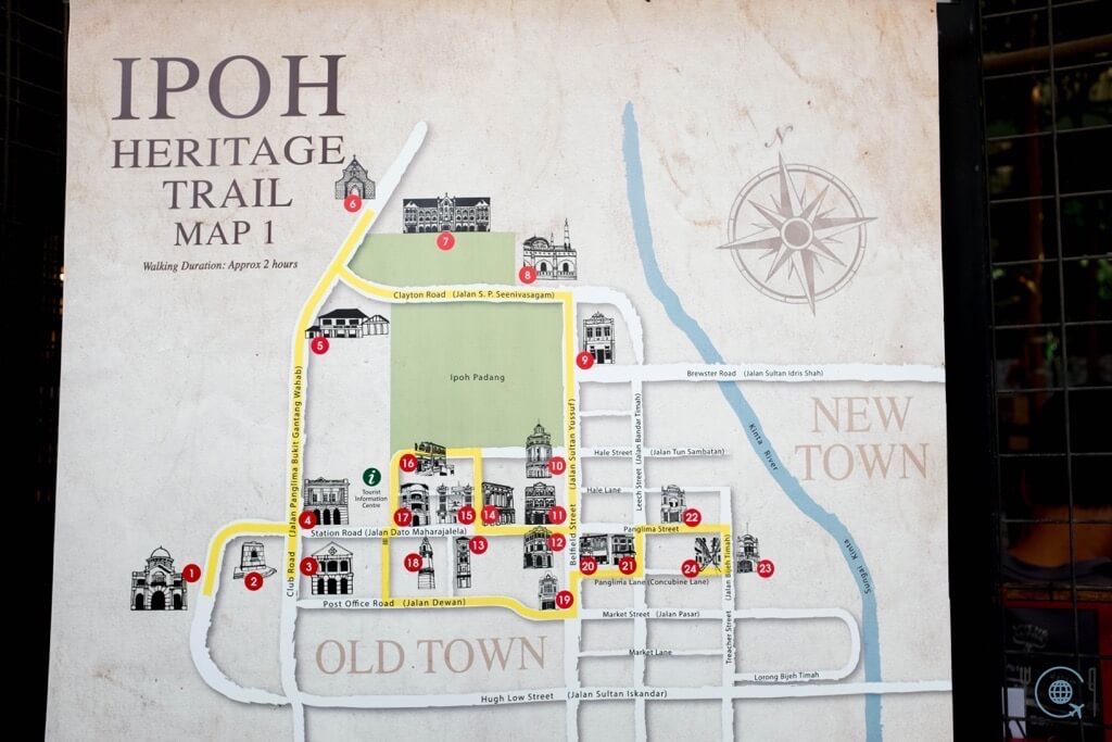 Things to do in Ipoh Heritage Trail