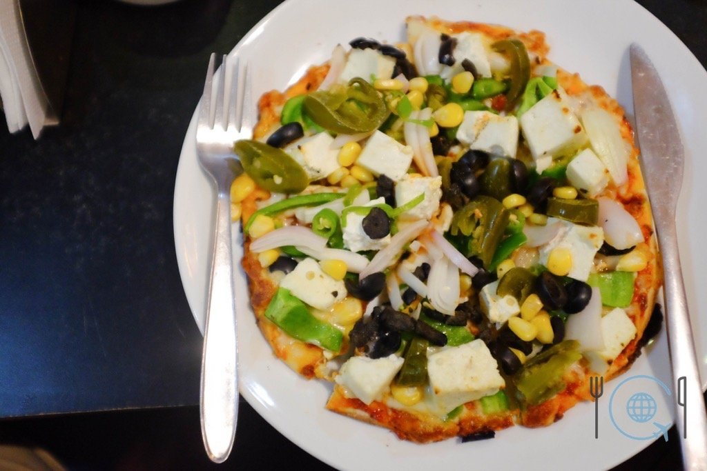 Udaipur Sightseeing - Panner Vegetable Corama Pizza
