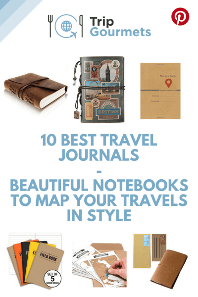 10 BEST TRAVEL JOURNALS