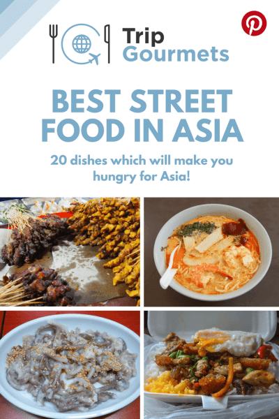 Best Street Food in Asia Pinterest