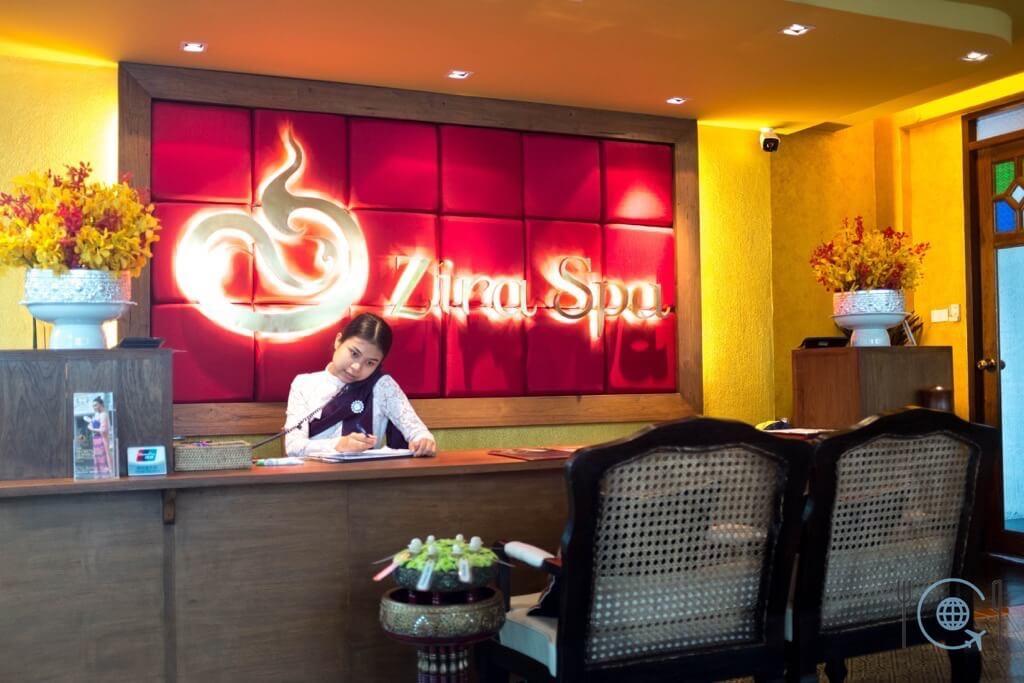 Chiang Mai Itinerary Massage zira