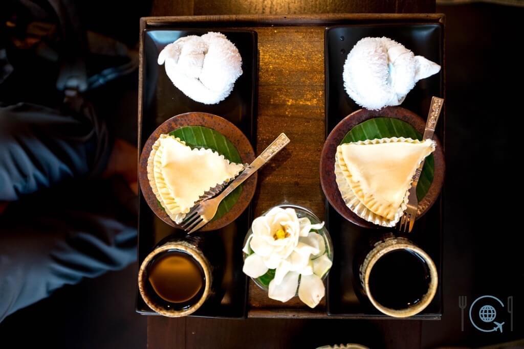 Chiang Mai Itinerary Massage dessert