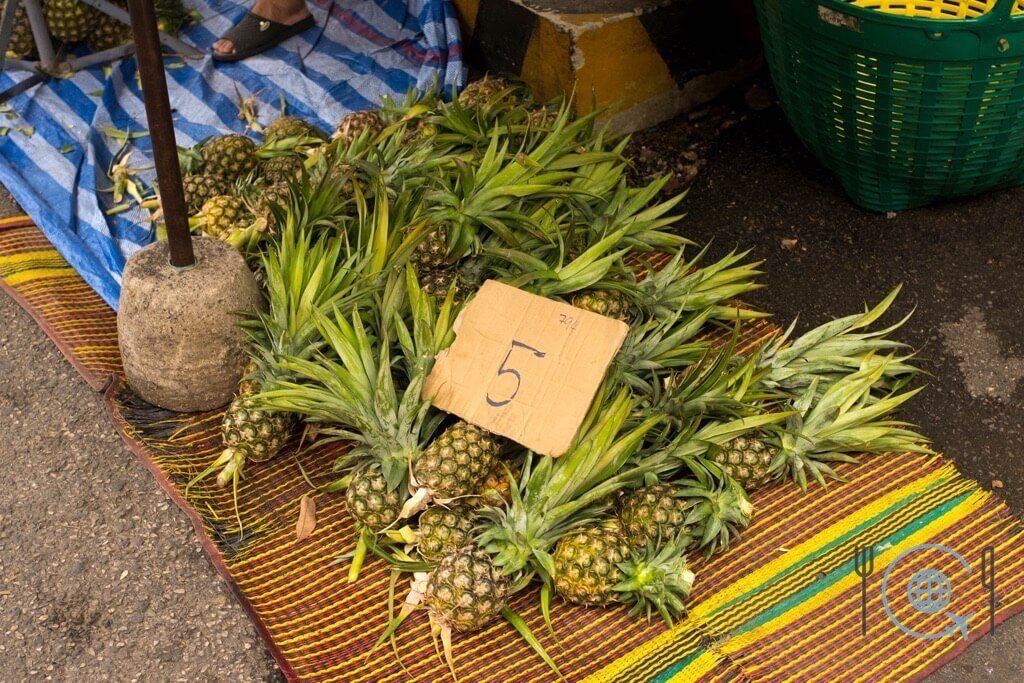 Cooking School Chiang Mai - Pineapple