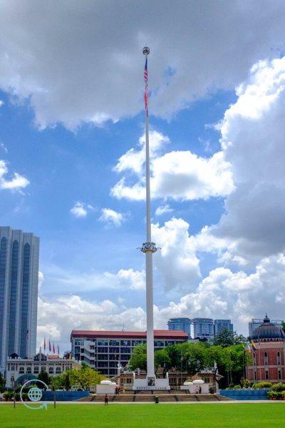 Kuala Lumpur Itinerary Flag pole