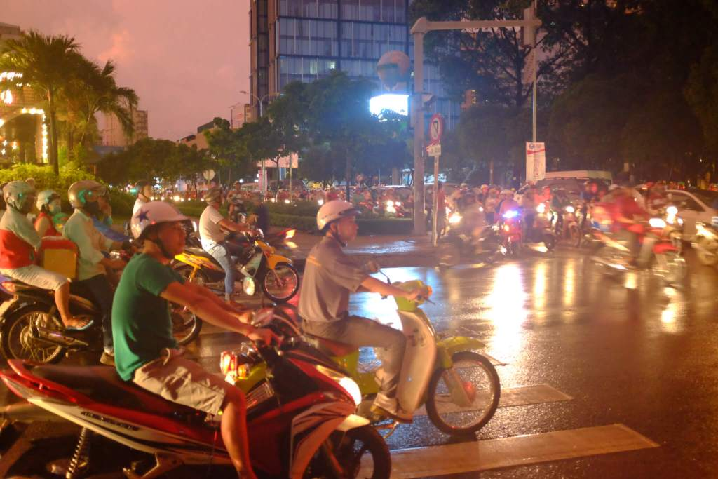 Vietnam 3 week itinerary Ho Chi Minh City Traffic