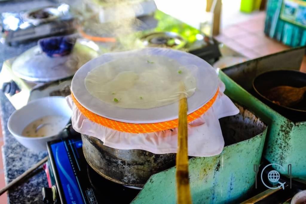 Hoi An Cooking Class fresh rice paper