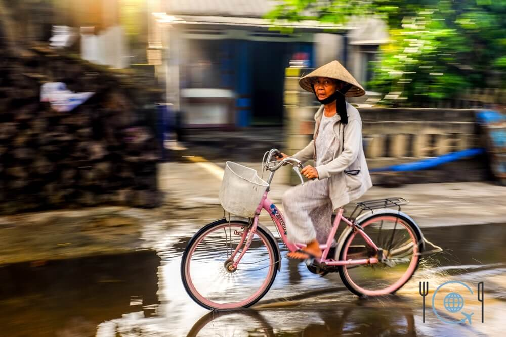 Vietnam 3 week itinerary Hoi An bicycle