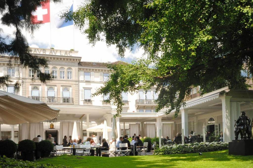 Best places to stay in Zurich Baur au lac