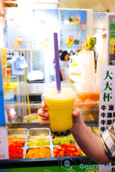Must eat in Hong Kong Bubble Tea