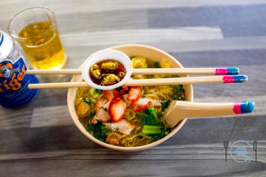 Best Hawker Food in Penang Wanton Wantan Wonton Mee