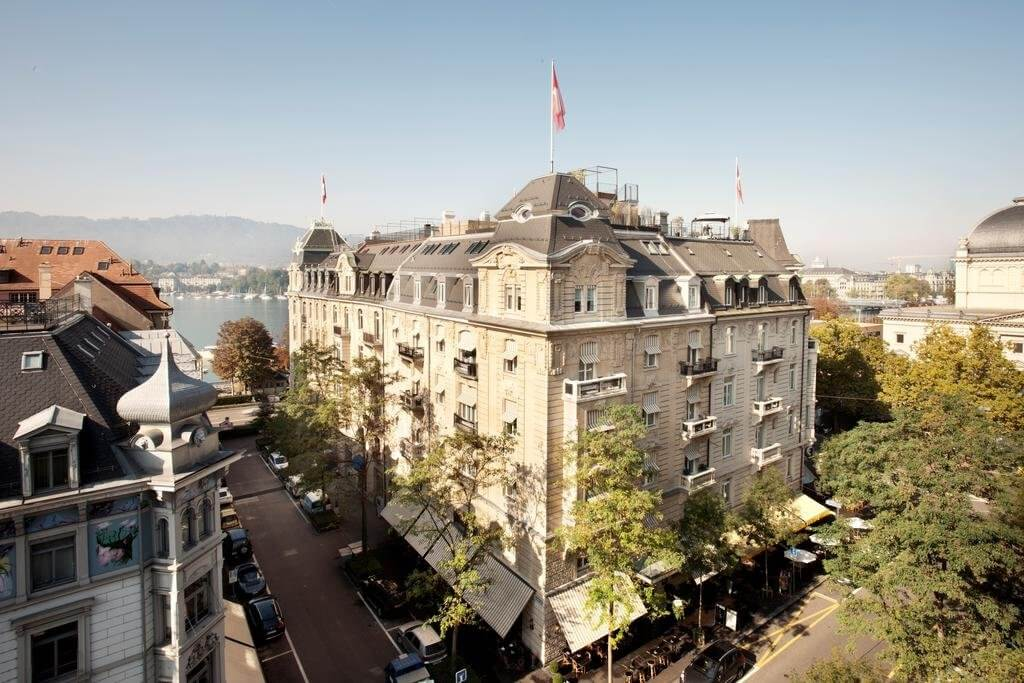 best places to stay in zurich Romantik hotel europe