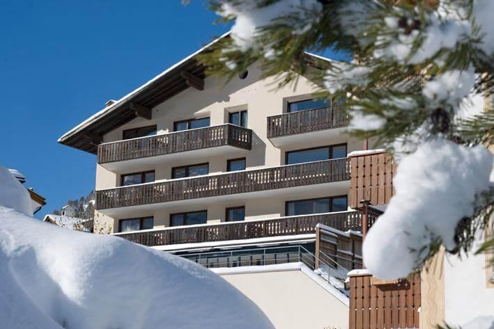 St Moritz Accommodation Hotel Albana