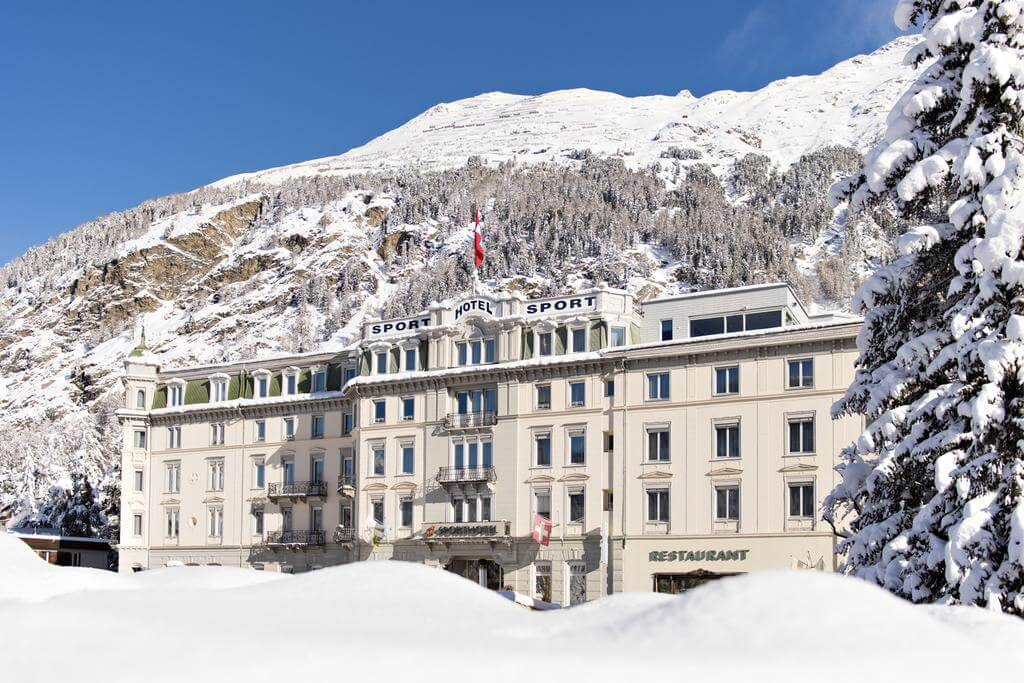 St Moritz Accommodation Sporthotel Pontresina